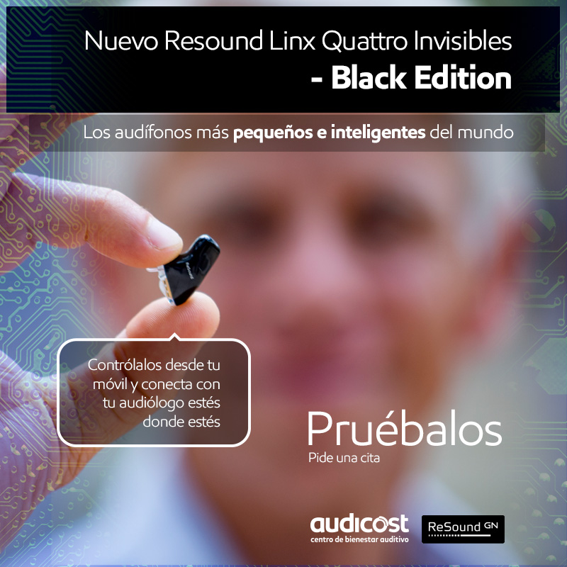resound Linx Quattro Black Edition